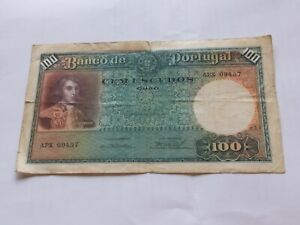 100 escudos  1941  Portugal