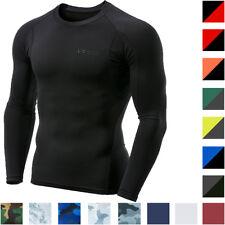 TSLa Tesla MUD11 Capa De Base Compresión Camisa Manga Larga Seco Fresco