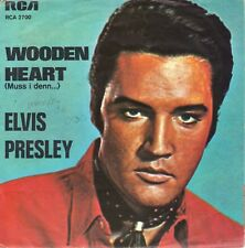 """7"""" Elvis Presley – Wooden Heart / Auslaufrille """"Made in Germany"""" // RCA 2700"""