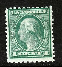 #542 Washington 1 Cent 11x10 Coil Waste Issue, MNH, 1919