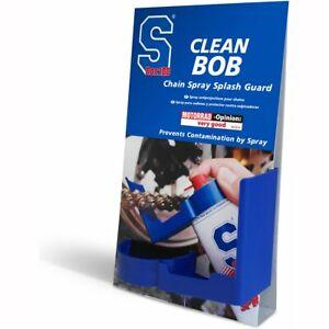 SDoc S100 Motorcycle Chain Spray Guard BOB - Blue UK SELLER