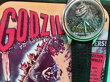 FOSSIL GODZILLA WATCH 1995 TOHO SUPER RARE WITH FIGURE AND CERTIFICATE