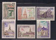 Laos   1959   Sc # 60-65   MNH   OG   (1-313)