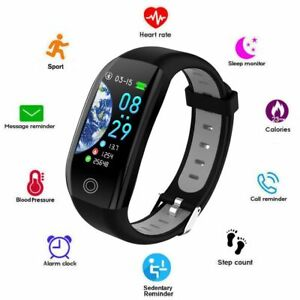Smart Watch Heart Rate Blood Pressure Monitor Sport Bracelet for Apple iPhone LG