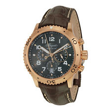 Breguet Transatlantique Type XXI Flyback Chronograph Rose Gold Mens Watch