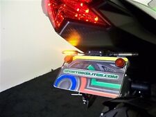 NINJA ZX6R STD FENDER ELIMINATOR w/ LED Turn Signals & Brake 09-16 ZX-6R SMOKE