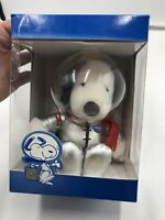 Snoopy 6 Inch Plush NASA Space Shuttle 100th Mission Peanuts 1992 NIB Astronaut