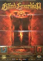 BLIND GUARDIAN Beyond The Red Mirror Promo Poster  gefaltet folded  Sammlerstück