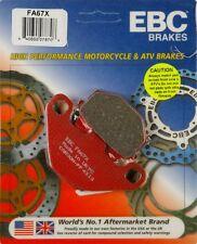 EBC FA67X X Series Carbon Brake Pads Kawasaki KX125 KX250 KX500 1986-1985 FRONT