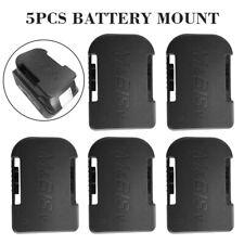 5pcs Akku Batterie Halterung Halter Batteriehalterungen für Makita 18V