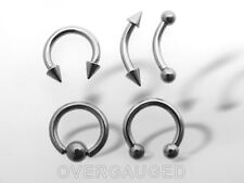 Lot Of 5 Pieces 14G Eyebrow Barbell Belly Ring Body Jewelry Cbr