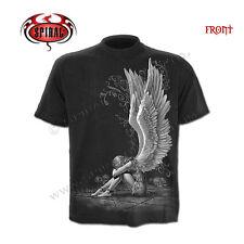 f21a12396 SPIRAL DIRECT ENSLAVED ANGEL T Shirt,Biker/Tattoo/Angel/Goth/Pentagram
