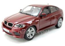 BBURAGO 18-12081 BMW X6M SUV 1/18 DIECAST RED