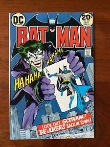 Batman #251 (1973) VF+ 8.5 Classic Neal Adams Joker Cover 🔥HIGH GRADE🔥