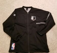 Adidas Mens NBA Minnesota Timberwolves Courtside Warm Up Track Jacket XL  Wolves 214e42515