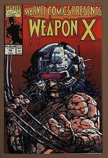 Marvel Comics Presents 79 NM+ 9.6 Wolverine Weapon X BWS Marvel Comics 1991