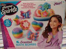 Crazart Shimmer N Sparkle Make Your Own Bath Bombs - Nib