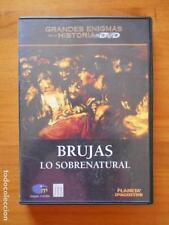 DVD BRUJAS - LO SOBRENATURAL - GRANDES ENIGMAS DE LA HISTORIA (O6)