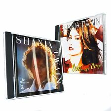 Shania Twain The Women In Me & Come On Over (CD 1995) Lot Compact Disc