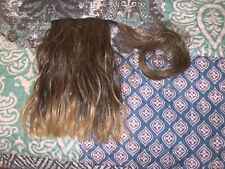 Clip In Extension Pony Tail Wrap Around Ponytail Blonde Highlights