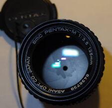 SMC Pentax-M 135mm f3.5 Vintage K-Mount Telephoto Lens