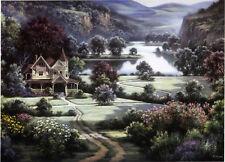 "Dubravko Raos ""Country Manor"" Fine Art Reproduction"