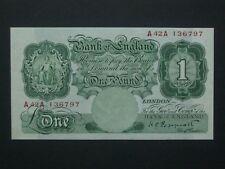 **Fantastic 1934  'GEF'+ **British  £1  Peppiatt  'A42A'  Banknote******