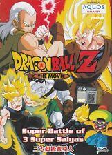 Dragon Ball Z: Super Battle Of 3 Super Saiyas DVD Movie Anime Cantonese Ver PAL