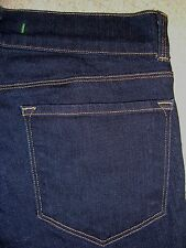 J BRAND Flare Stretch Dark Blue Denim Jeans Womens Size 28 x 35.5 Mint USA