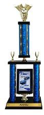 CAR SHOW AWESOME LARGE TWO POST TROPHY AWARD OUR CUSTOM DESIGN FREE LETTERING
