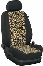 Ford Tourneo Connect hasta 2018 grado fundas para asientos delantero 3 plazas: Leopard/negro