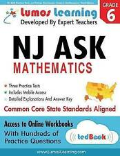 NJ ASK Practice Tests and Online Workbooks: Grade 6 Mathematics, Third Edition: