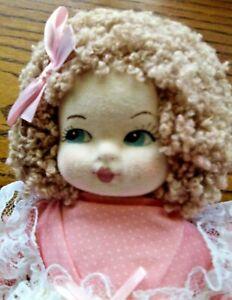 """Antique 14"""" Doll Signed Renata D'ash Original Clothes"""