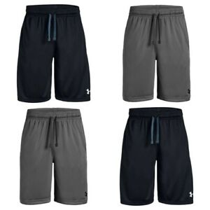 Under Armour Boys Shorts Prototype Kids Sports Gym Running Football Short Size