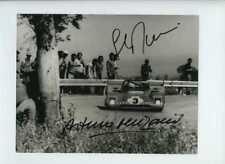 MERZARIO & Munari Ferrari 312 PB TARGA FLORIO 1972 firmato fotografia 4