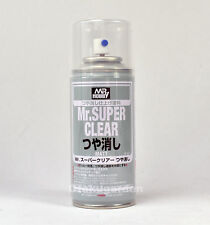 Creos GSI MR HOBBY ACRYLIC SPRAY 170ml MR. Super Clear FLAT MATT B514 New Ver