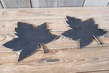 2 Blacksmith 3mm Thick Maple Leaf Bowl Blanks Anvil Forge  Blacksmithing  tools