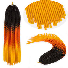 Dread Synthetic Braids Dreadlocks Braiding As Human Hair Extensions Multicolor