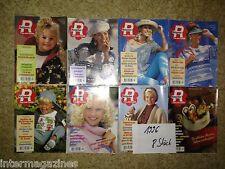 Magazine Ratgeber Frau und Familie,Jahrgang 1996(8 Hefte)Kochen/Backen,Gesundhei