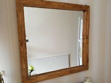 Le Carre a rustic hand crafted mirror