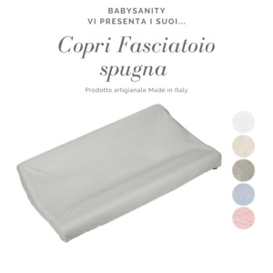 Rivestimenti fodera universale fasciatoio in spugna 100% cotone Made in Italy
