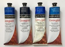 4 x Daler Rowney Georgian Ölfarbe, 225ml