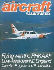 AIRCRAFT ILLUSTRATED FEB 81 RHKAAF HONG KONG_CANADIAN PACIFIC_DANAIR_USAFE F-111