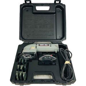 Porter Cable 444 Profile Sander Kit Type 2 Molding Detail w/ Hard Case Tested