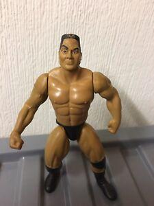 1996 Jakks Pacific Wwf Wwe The Rock Dwayne Johnson Rare Wrestling Figure