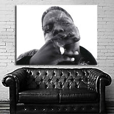 Poster Mural Biggie Notorious BIG 35x47 inch (90x120 cm) on Canvas