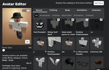 🔥 Roblox Account With Korblox, 15+ Pages Of Hats,13k Limited