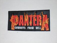 PANTERA COWBOYS FROM HELL EMBROIDERED PATCH