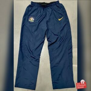 Nike Australia Socceroos 2008-10 Player Issue Track Pants. Size M, Exc Cond.