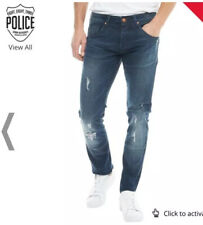 BNWOT 883 Police Mens Moriarty Laker 283 Jeans Blue W34 L30 RRP: £79.99